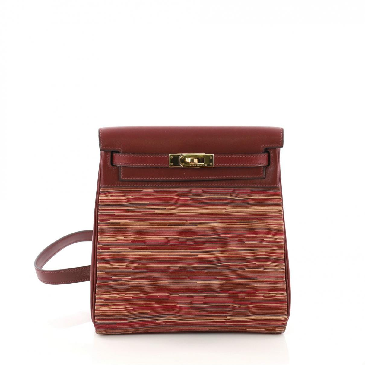 a1d366c4e690 Hermès. Women's Pre-owned Vintage Red Cloth Backpacks. £5,475 From Vestiaire  Collective