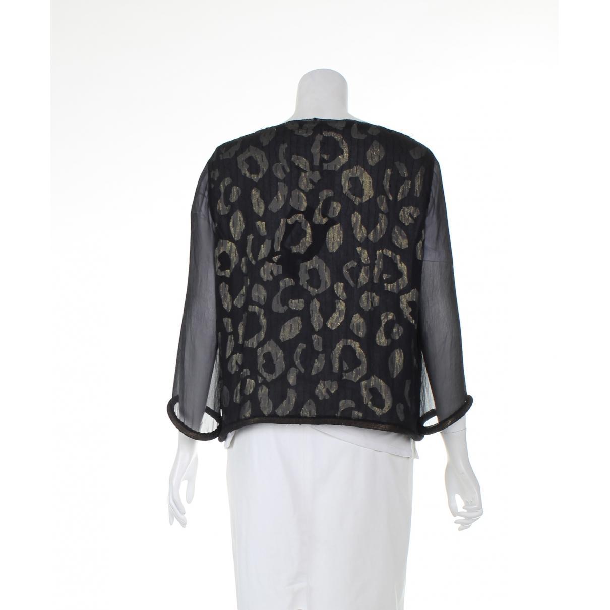 Chaqueta de Seda Diane von Furstenberg de Seda de color Negro