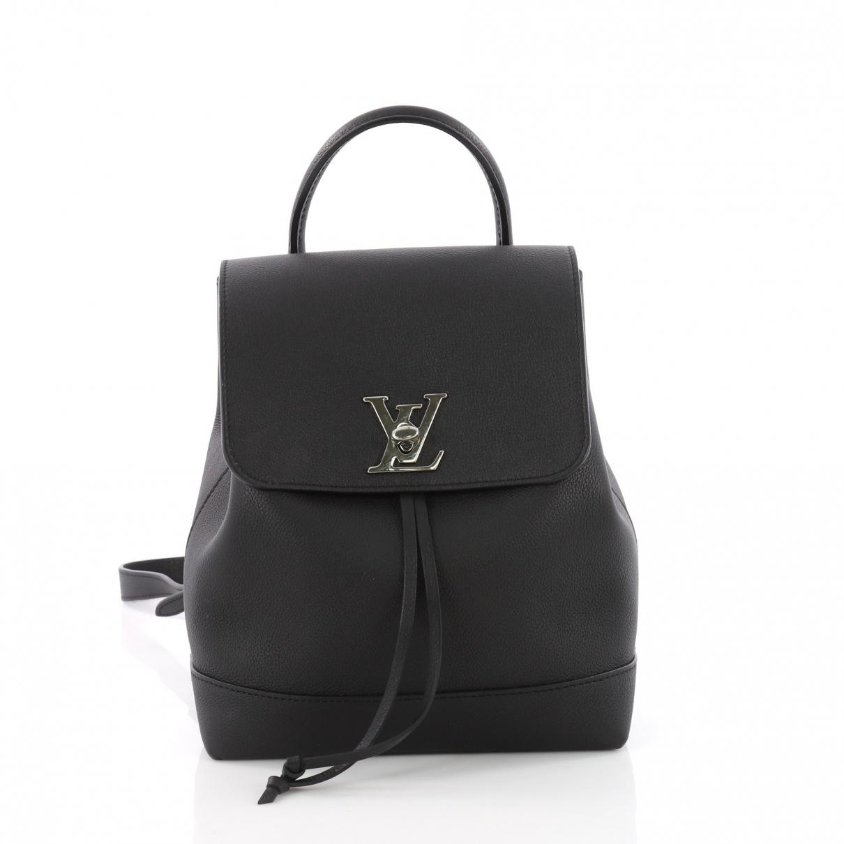 Louis Vuitton Pre-owned Cloth Handbag in Black - Lyst 30106701c0779