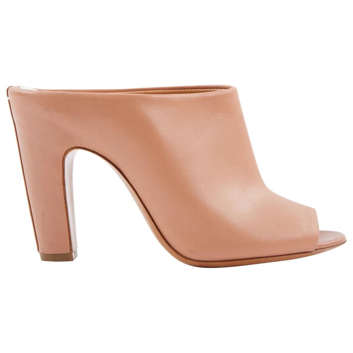 super cute 30c99 35378 maison-martin-margiela-Pink-Leather-Mules.jpeg