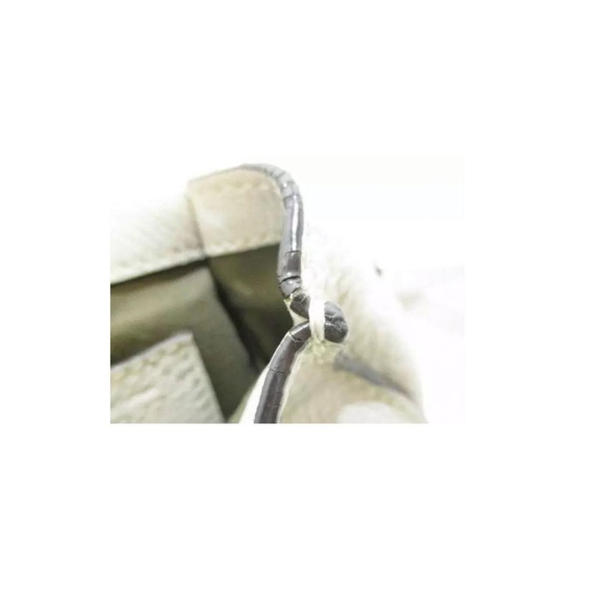 Sac à main Marcie en Cuir Blanc Cuir Chloé en coloris Blanc NBJu