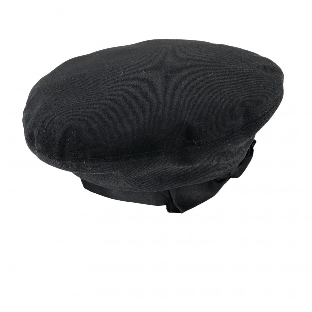 352f383df3fea Chanel Black Wool Hats in Black - Lyst