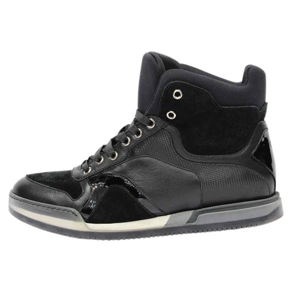 Dior Leather High Trainers CxOCP