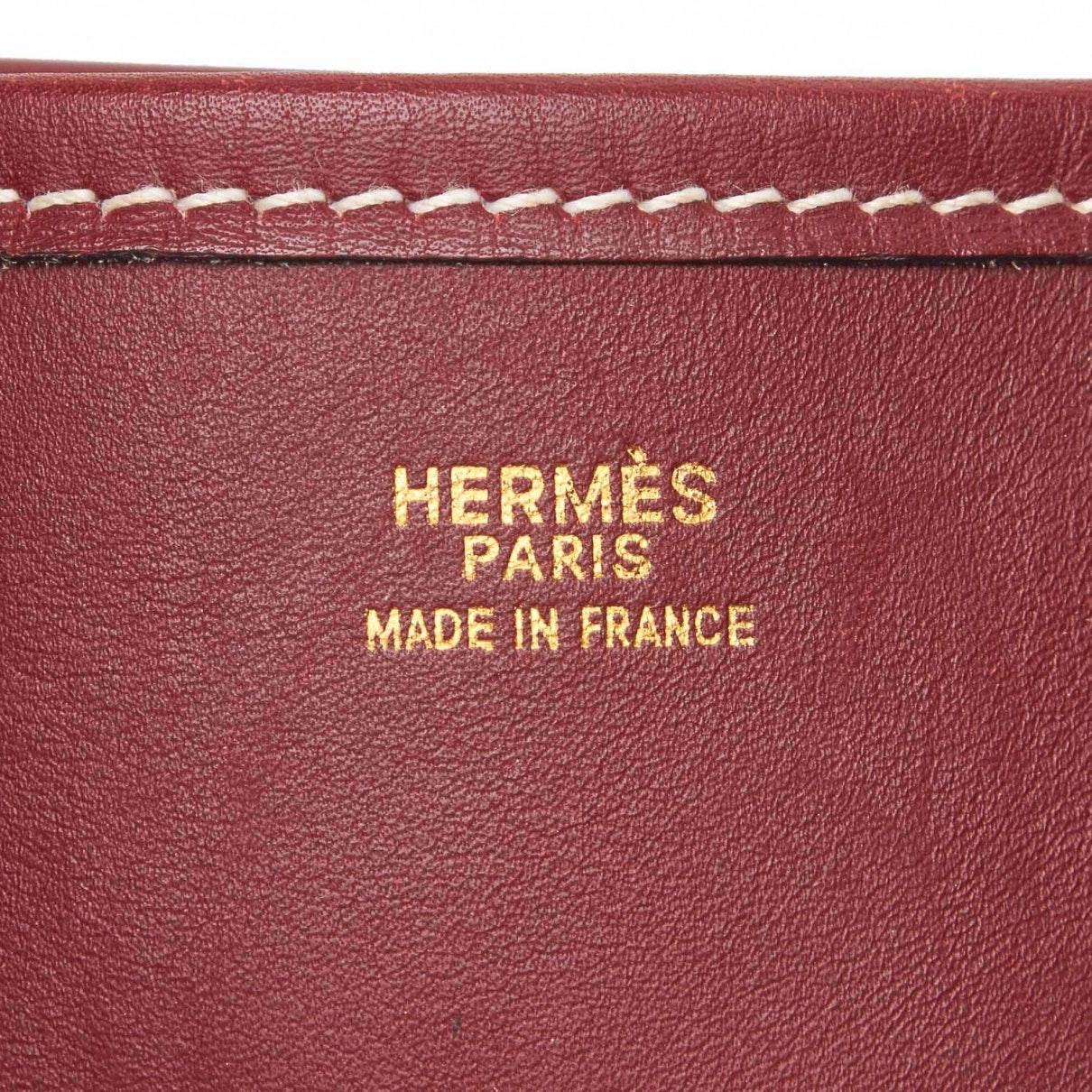 Sacs à main Evelyne Cuir Hermès en coloris Rouge Jruw