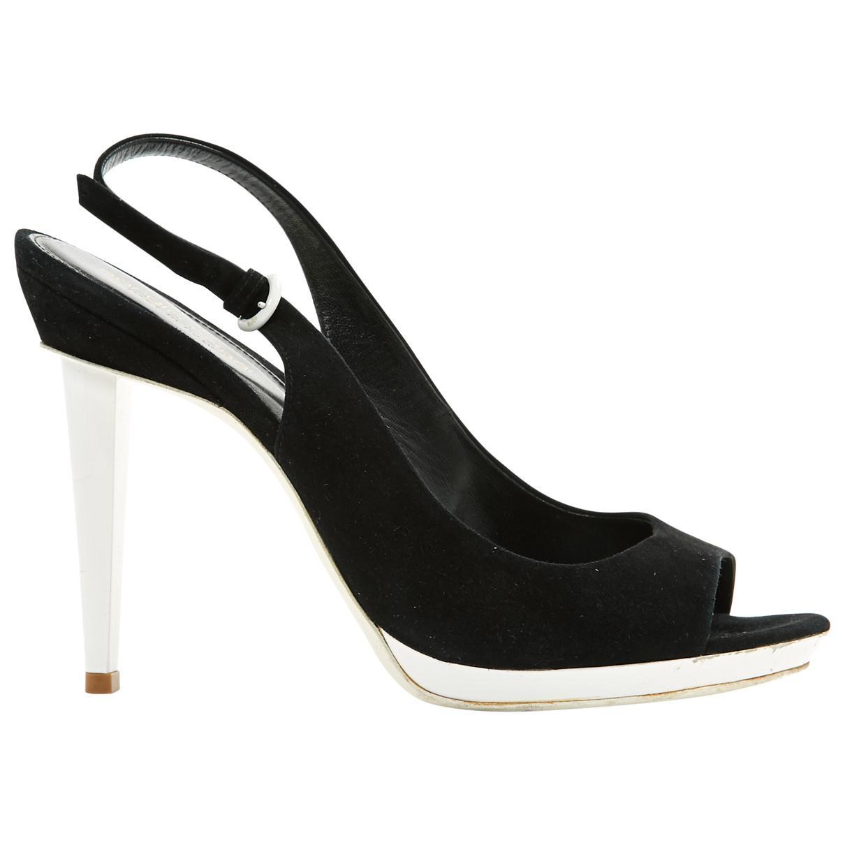 Pre-owned - Velvet sandals Sergio Rossi 1OVh16k