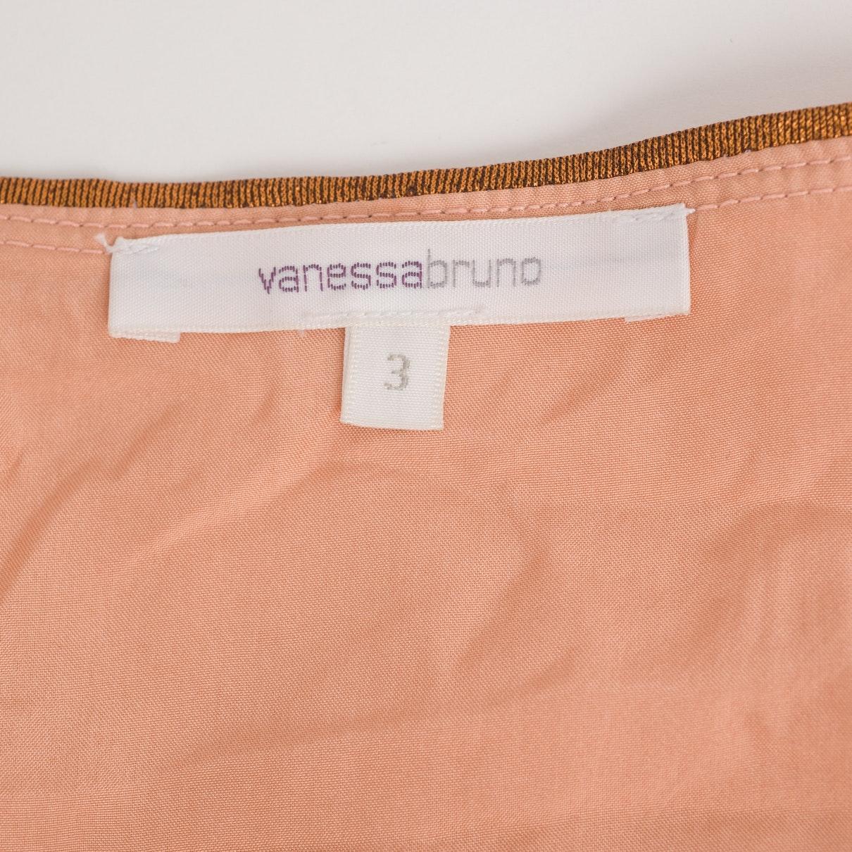 Robe N en Lin Orange Vanessa Bruno en coloris Rose