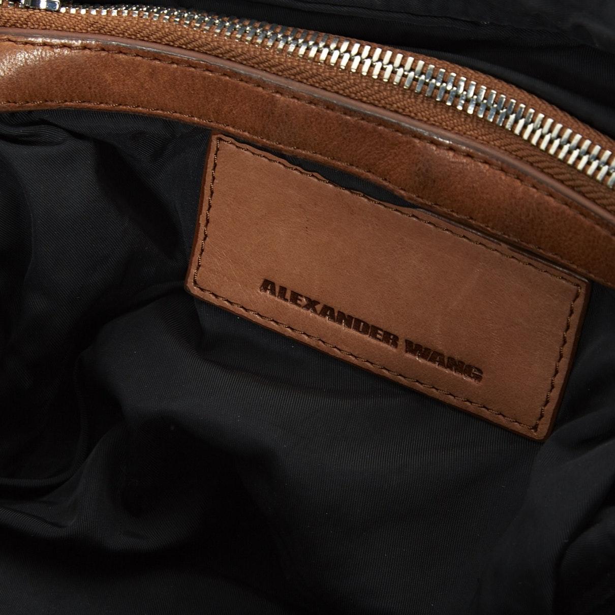 Alexander Wang Leder Brenda Leder handtaschen in Braun rwVfe