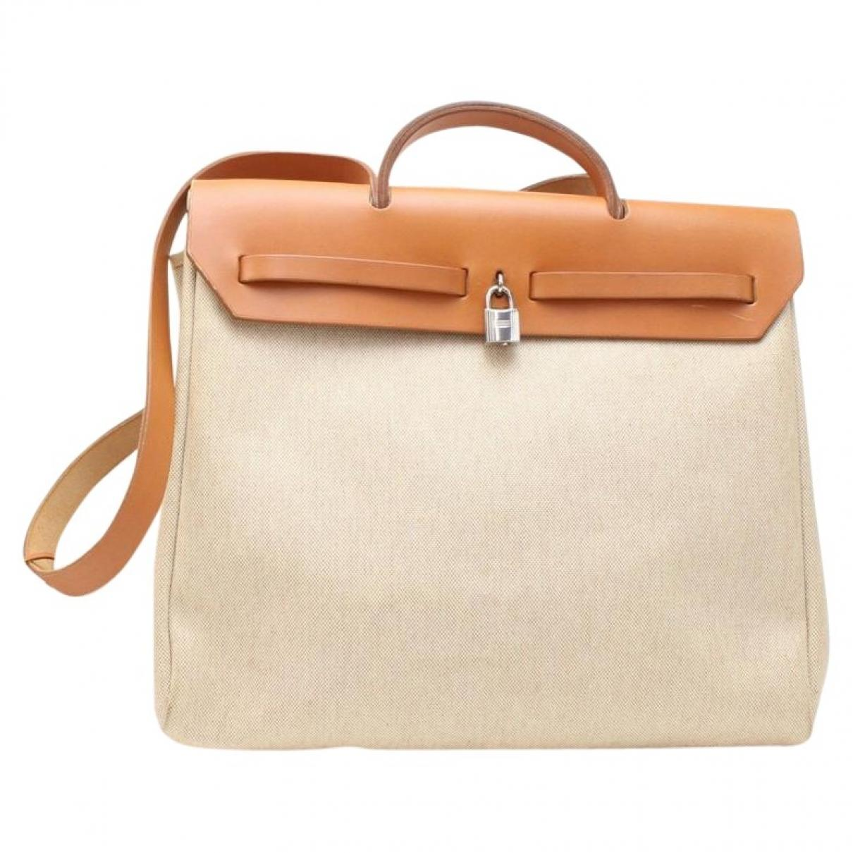 36620cc5 Damen Herbag Leinen Handtaschen in natur