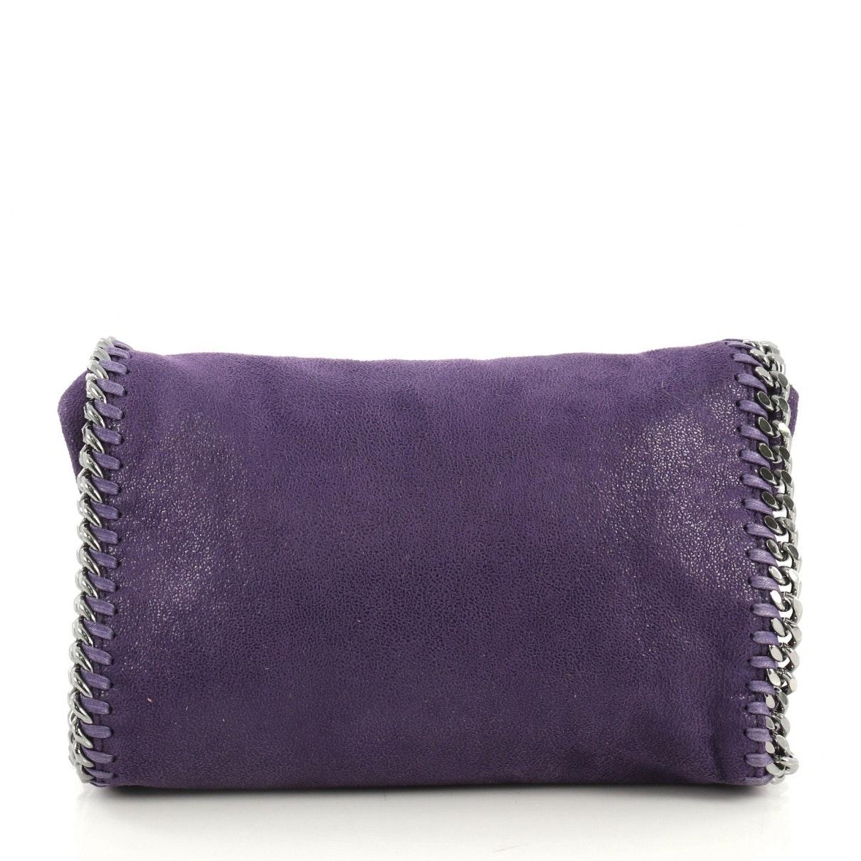 Sac à main Falabella en Cuir Violet Cuir Stella McCartney en coloris Violet H6PE