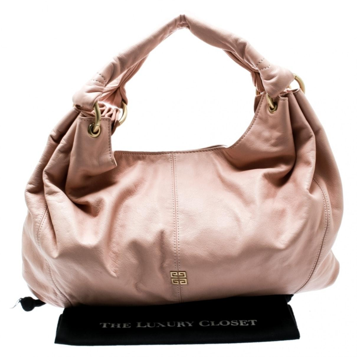 Sac à main en Cuir Rose Cuir Givenchy en coloris Rose VfJn