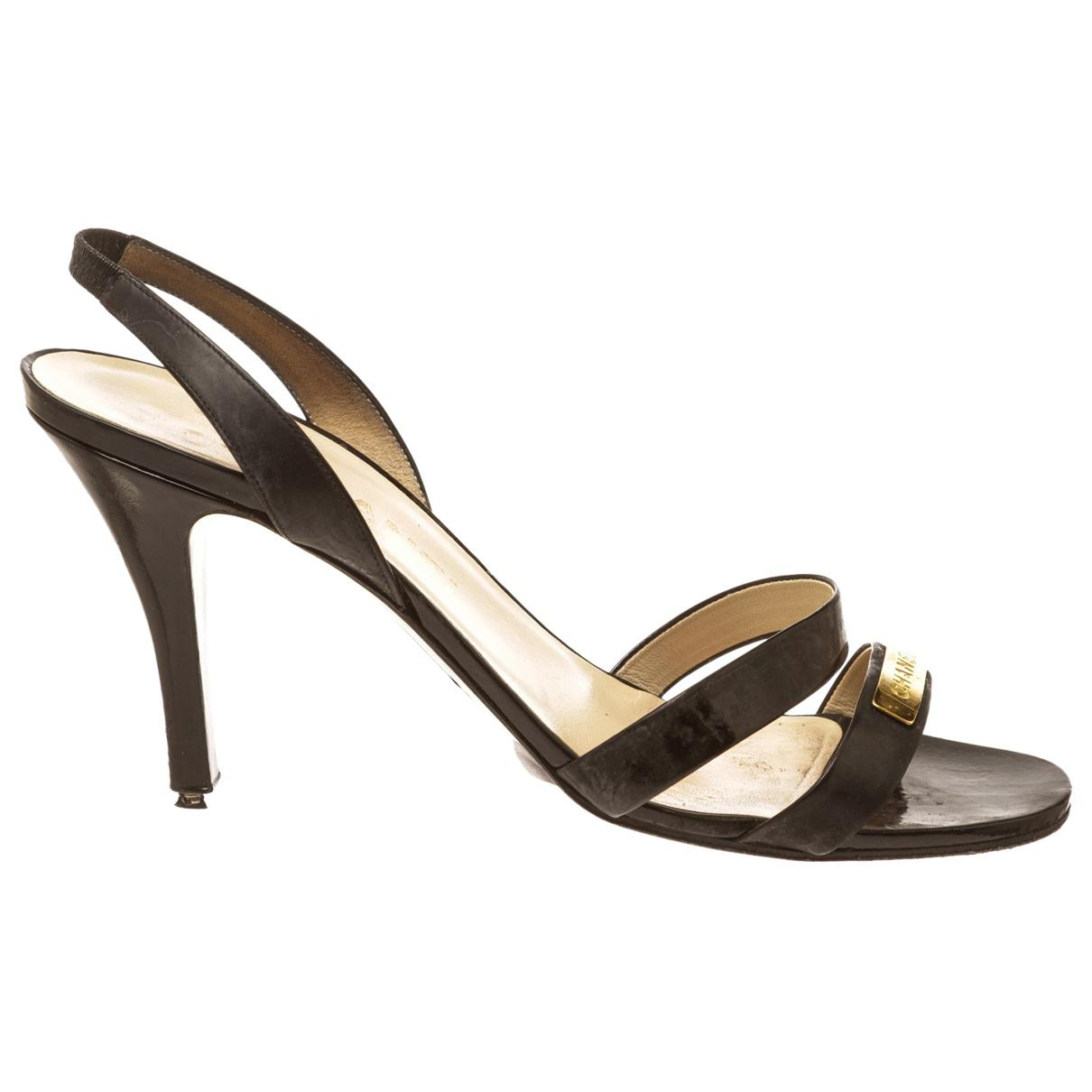 Pre-owned - Patent leather sandal Chanel 1lrQ39