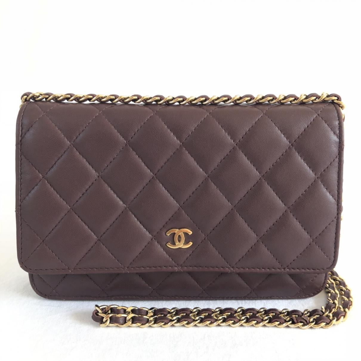 Pre-owned - Wallet on Chain python clutch bag Chanel f2PvZDY