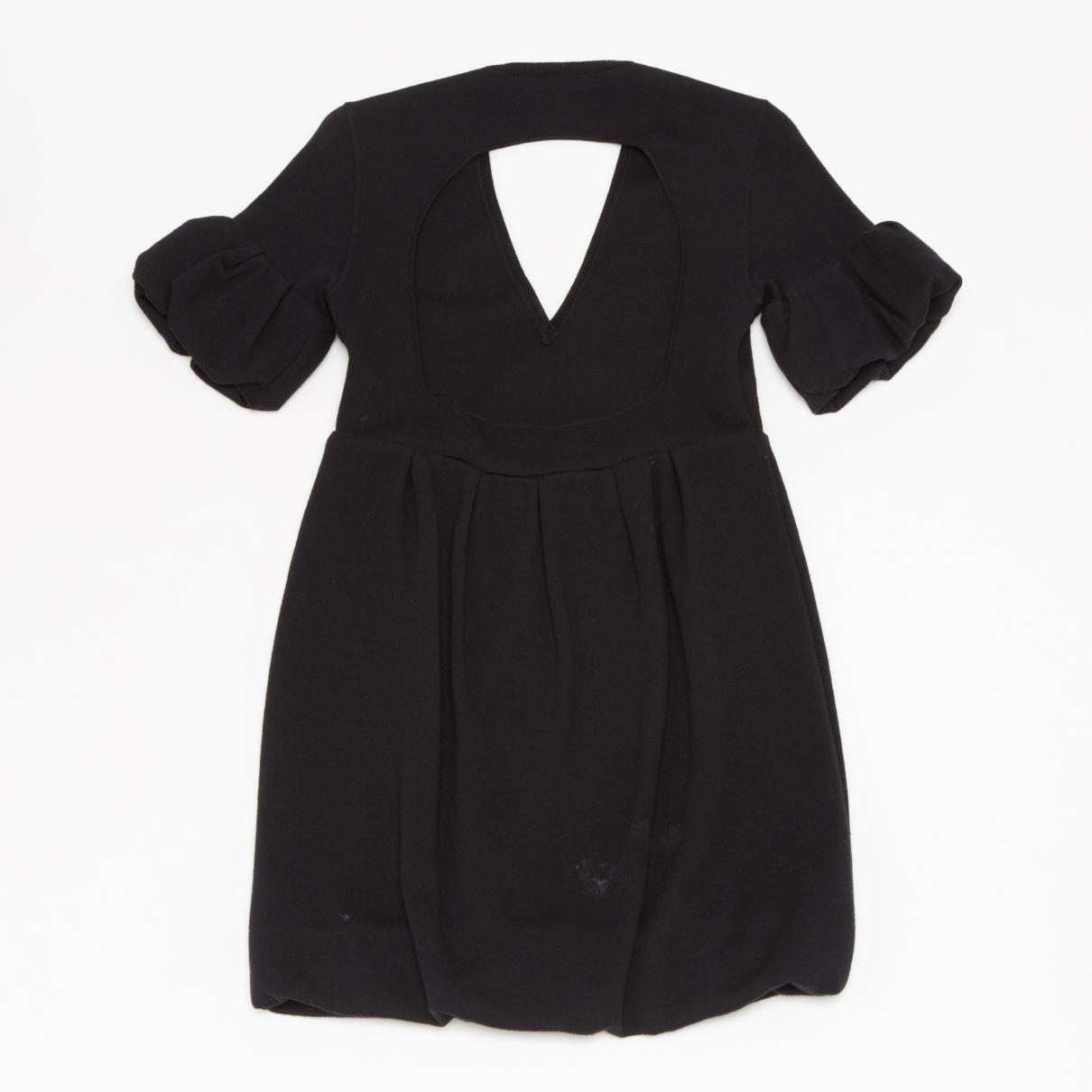 3d8fe835c48dd Burberry - Black Mini robe en laine - Lyst. Afficher en plein écran