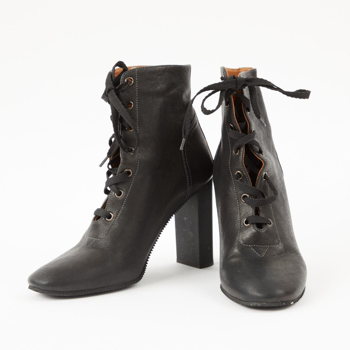 online store 84c93 4044b chloe-Black-Pre-owned-Leather-Lace-Up-Boots.jpeg