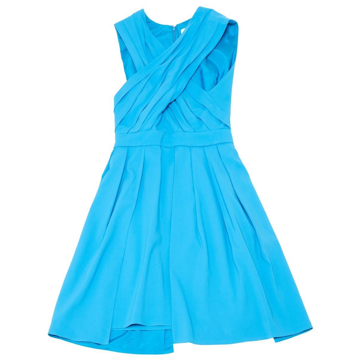 Robe N en Viscose Bleu Synthétique Matthew Williamson en coloris Bleu