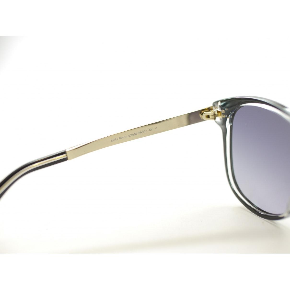 Marc By Marc Jacobs Black Plastic Sunglasses
