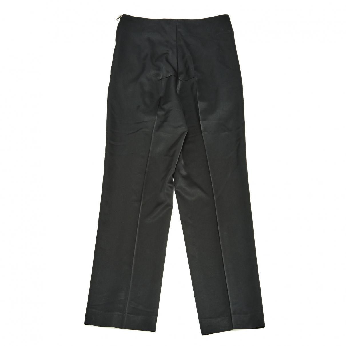 Pantalons en Laine Noir Laines Roland Mouret en coloris Noir