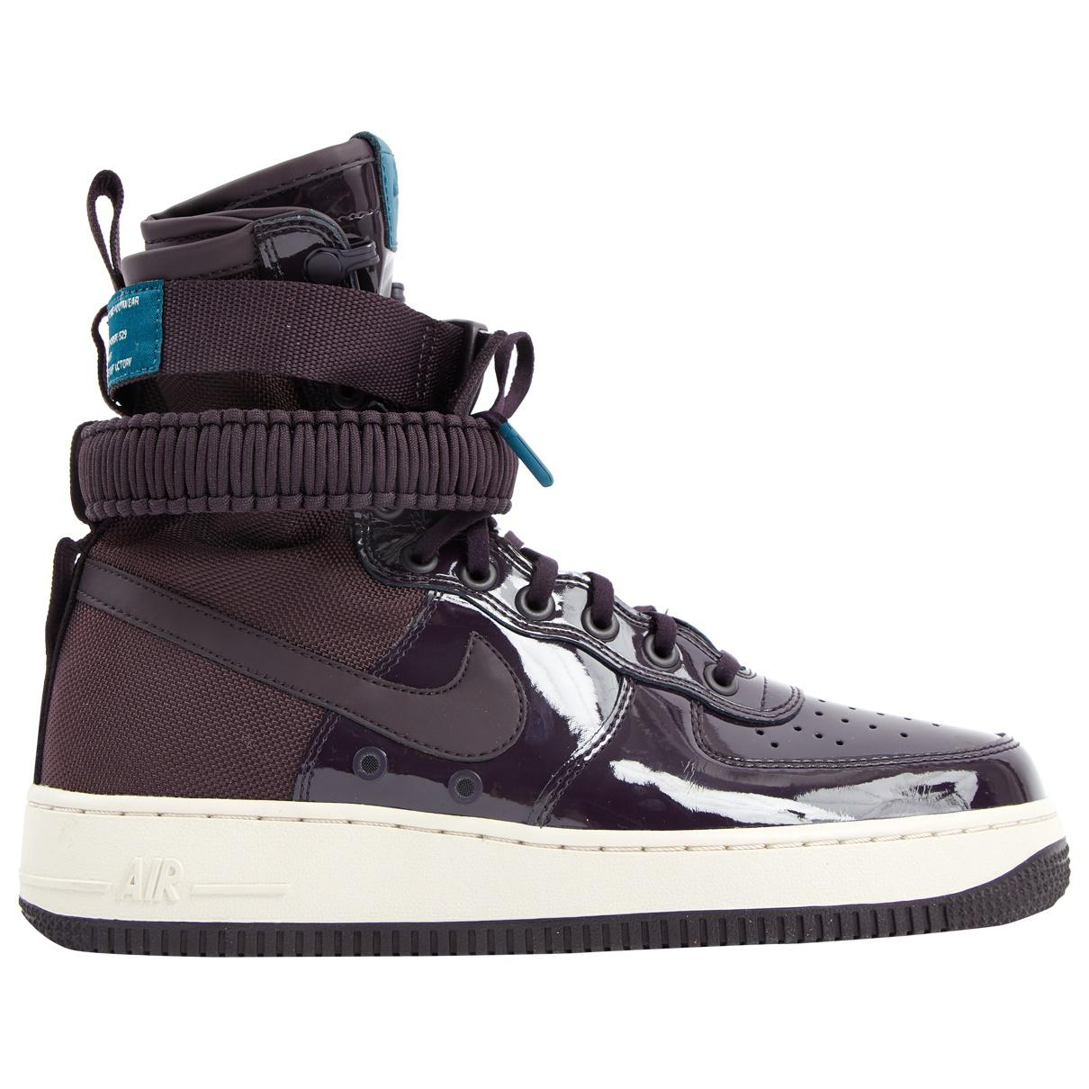 new product 090ab a88f6 Nike. Men s Purple Air Force 1 Cloth Trainers