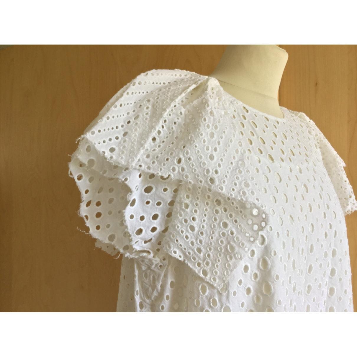 Robes Coton Isabel Marant en coloris Blanc