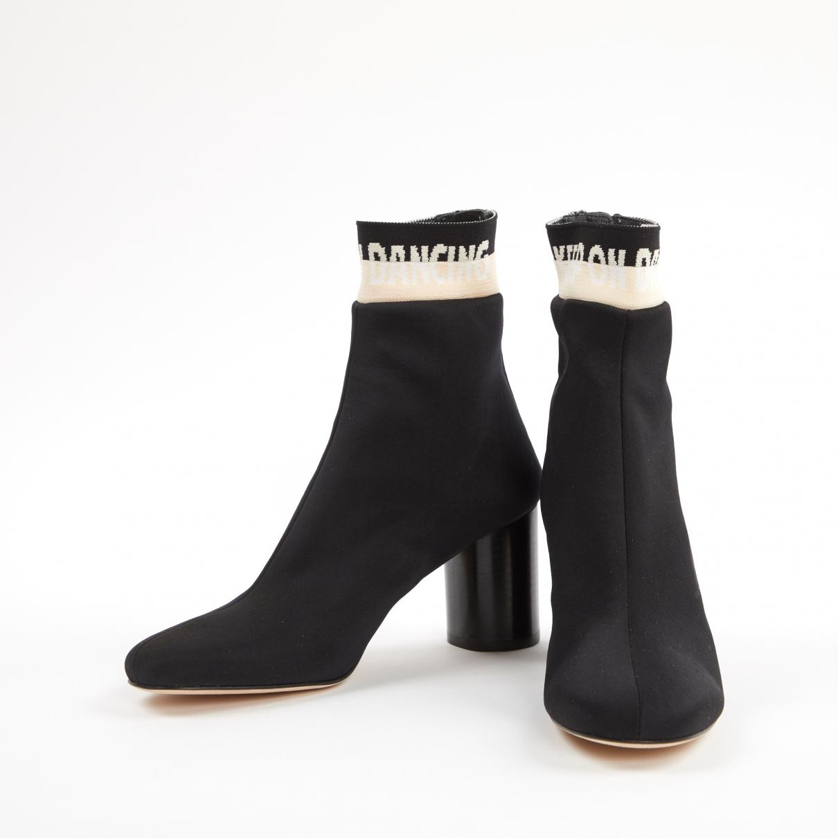 Botines de Lona Sandro de color Negro