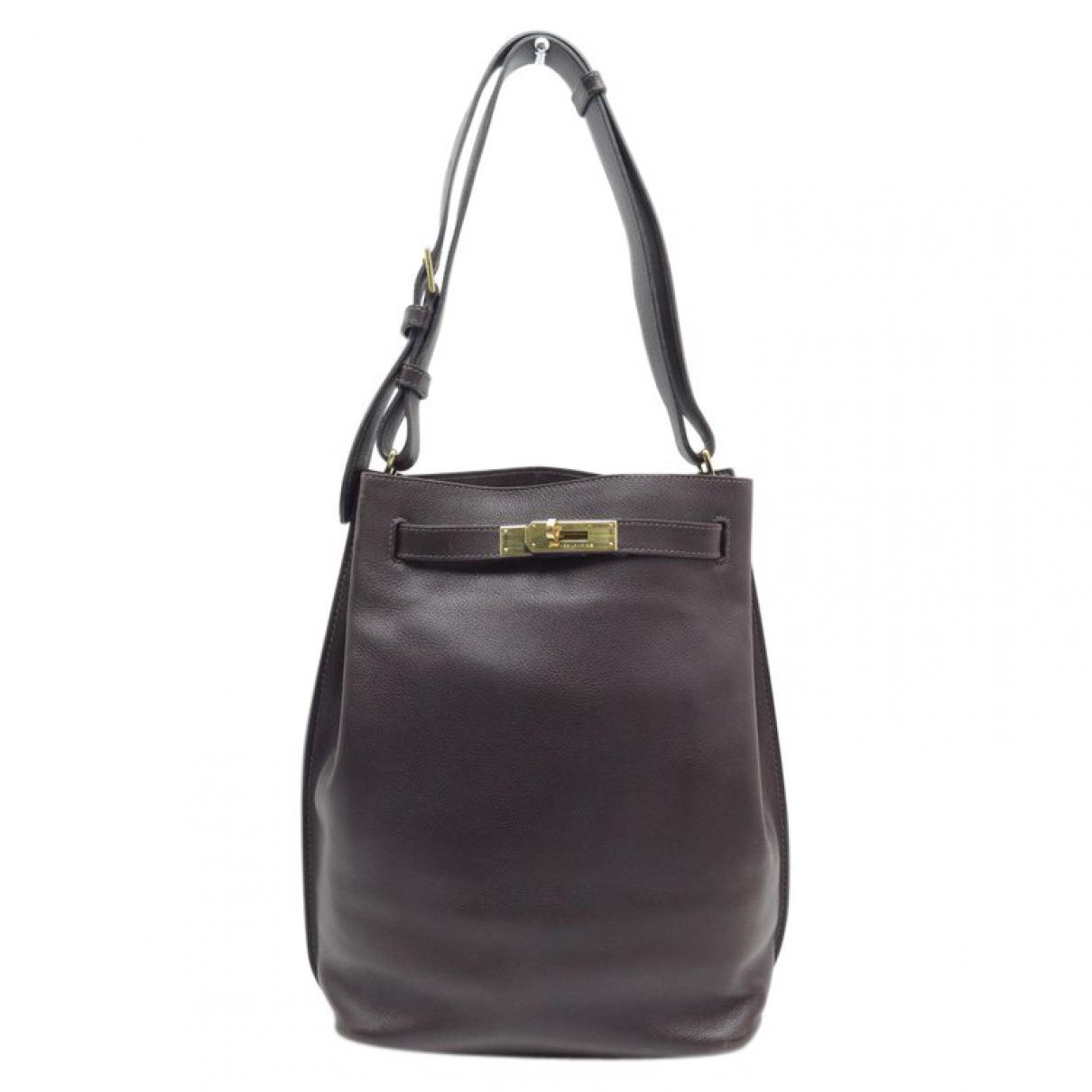 Hermès Pre-owned - Leather shoulder bag LLiuElEZx