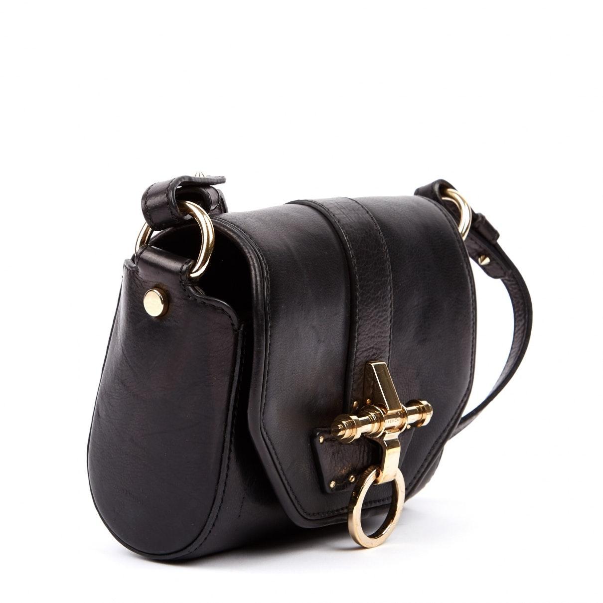 Sac à main Obsedia en Cuir Noir Cuir Givenchy en coloris Noir cfqe