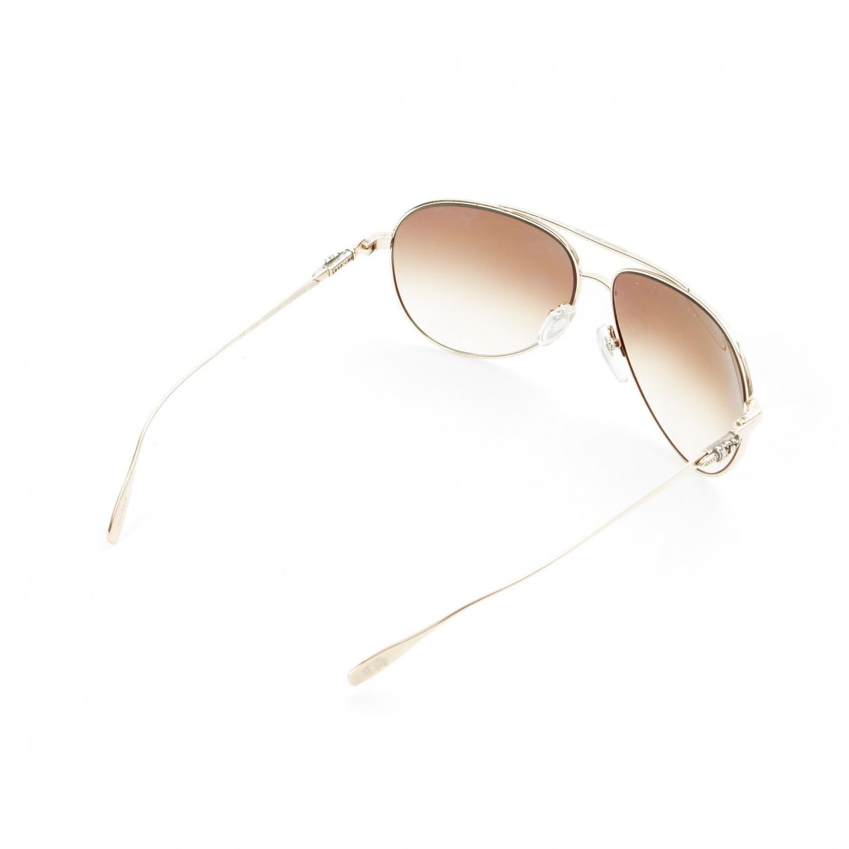 Chrome Hearts Synthetic Pre-owned Aviator Sunglasses in Silver (Metallic)