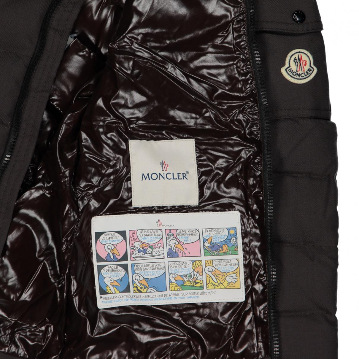 Moncler Brown Wool Coat