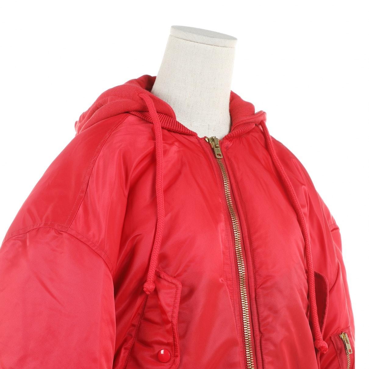 Abrigo en sintético rojo Vetements de color Rojo