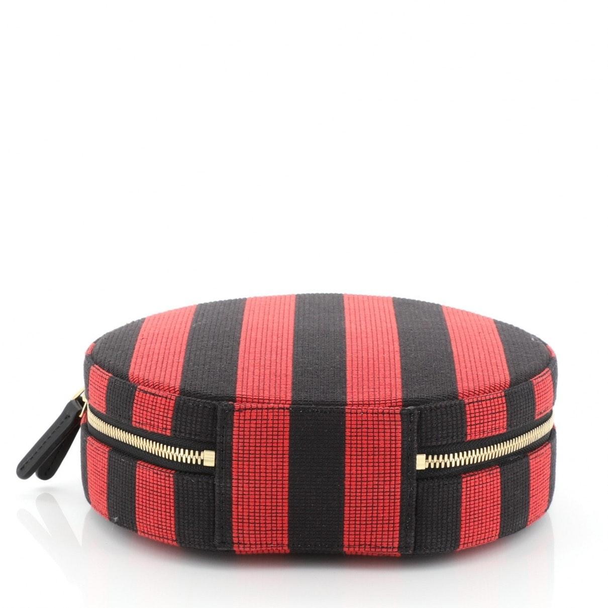 Mansur Gavriel Baumwolle Leder Handtaschen in Schwarz wNn8j