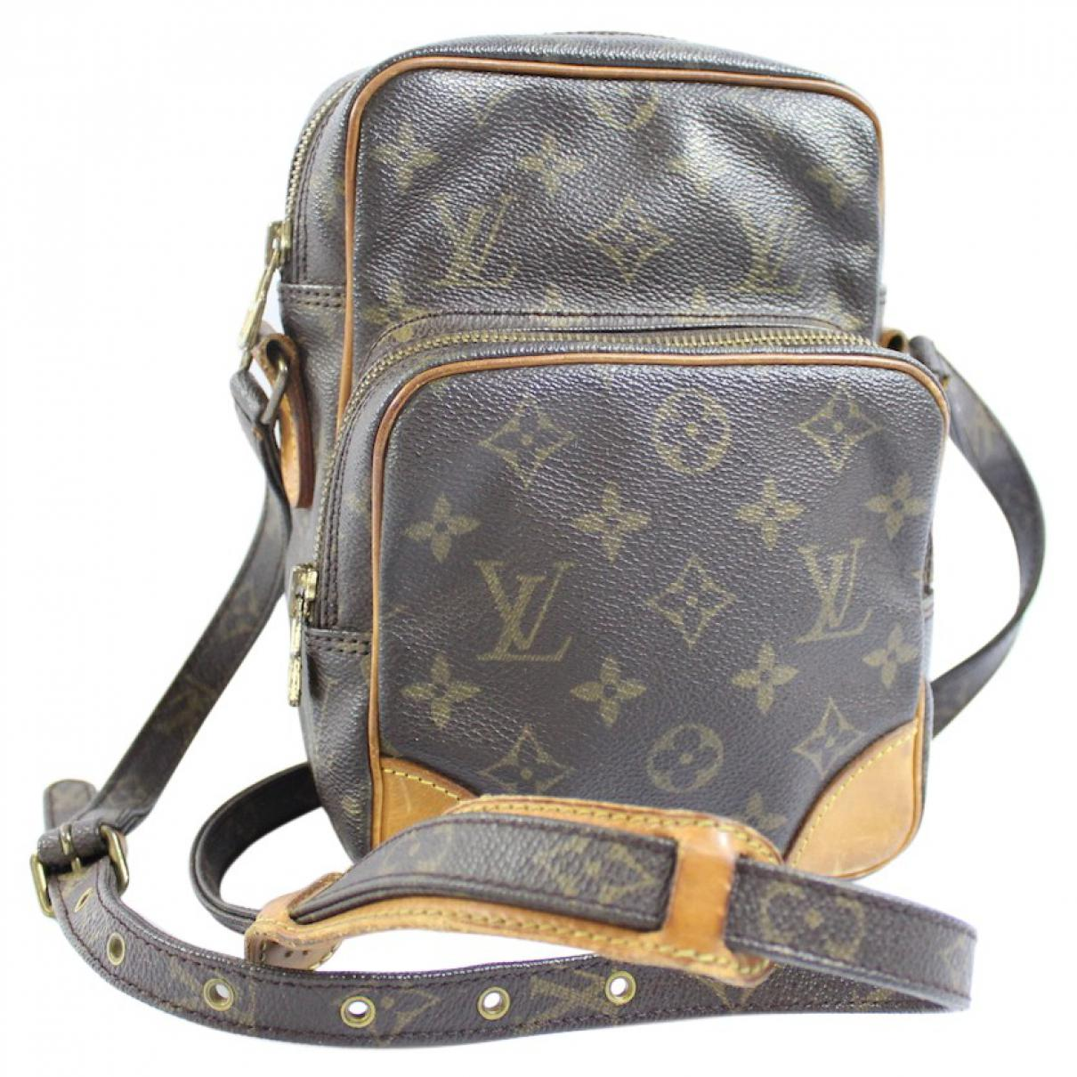 30179d45a57 Louis Vuitton Amazon Cloth Crossbody Bag in Brown - Lyst