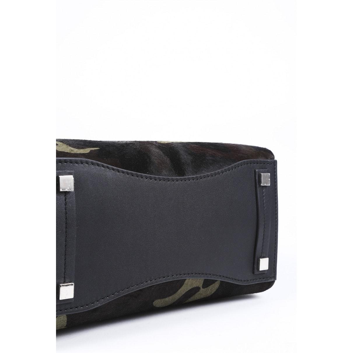 Michael Kors Kalbsleder In Pony-optik Handtaschen in Schwarz 0HWoV