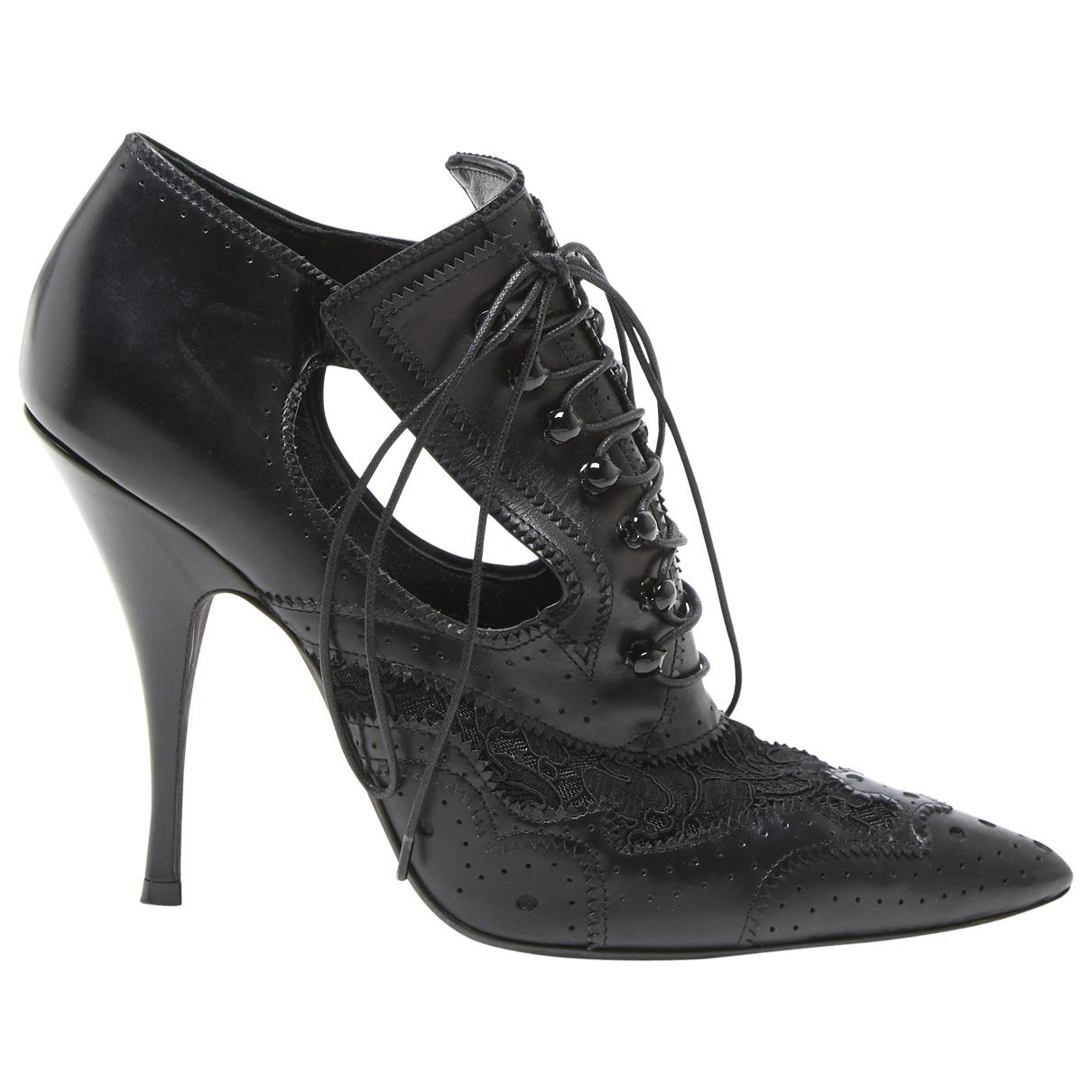Pre-owned - Leather lace up boots Givenchy eIXJuSSn1p