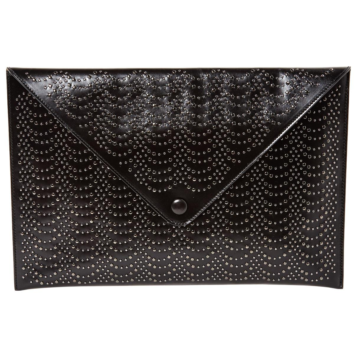 Alaia Pre-owned - Leather clutch bag cT2WK