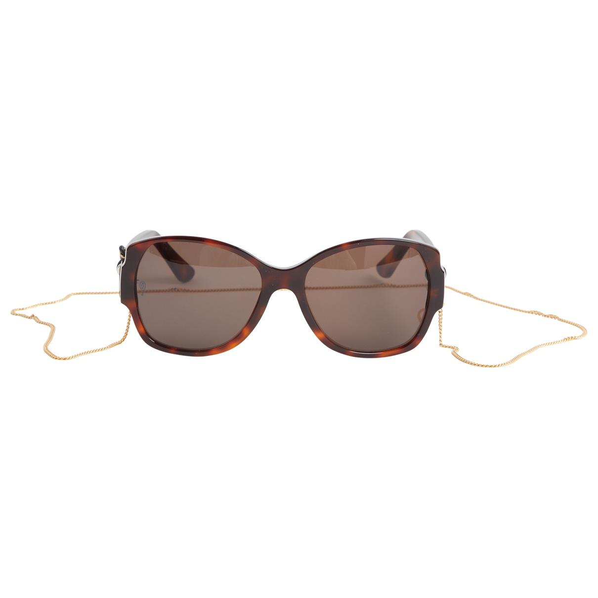 ffa35dc1291 Cartier PANTH RE DIVINE Source · Cartier Sunglasses in Brown Lyst