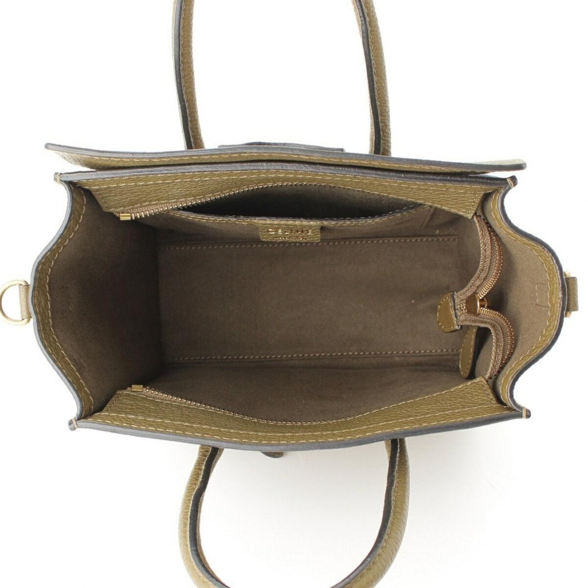 Sac à main Luggage en Cuir Beige Cuir Celine en coloris Neutre UuL9