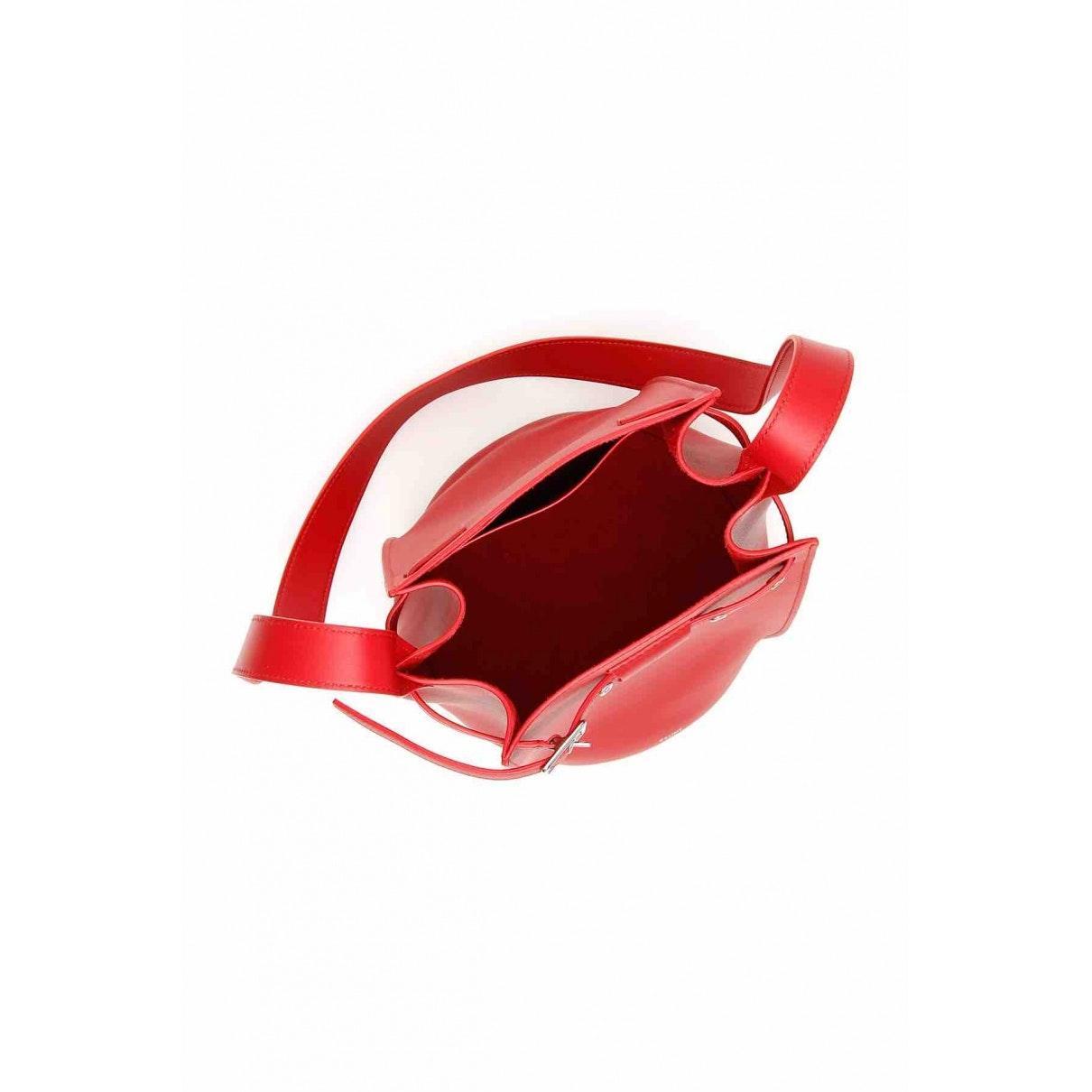 Sac à main Big Bag en Cuir Rouge Cuir Celine en coloris Rouge MHT5