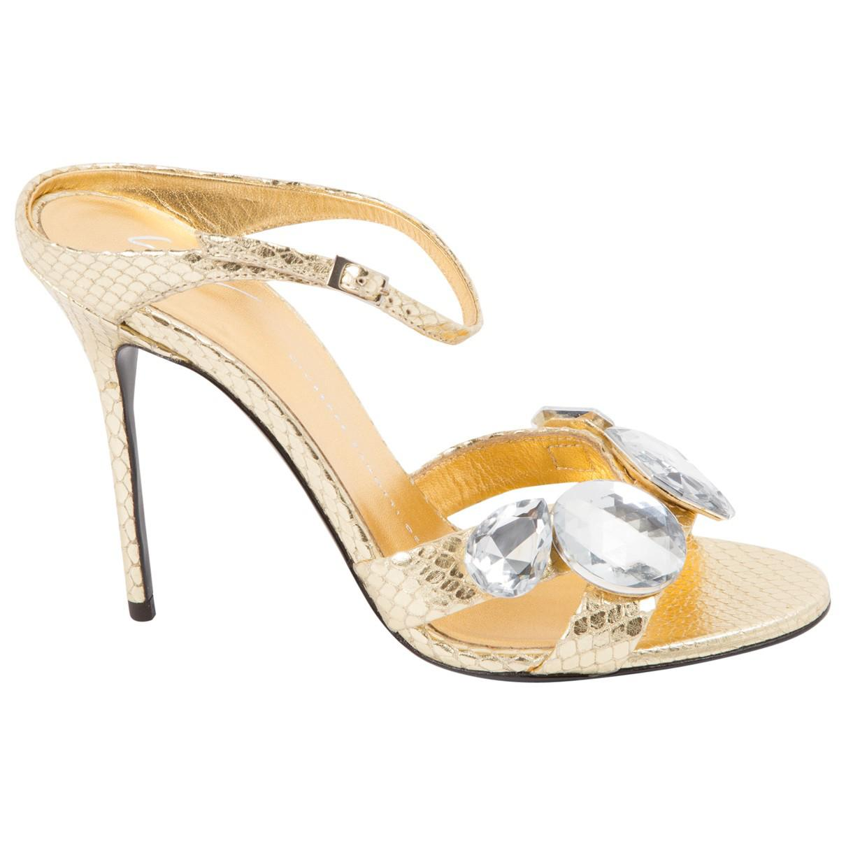 Pre-owned - LEATHER SANDALS Giuseppe Zanotti BOWk85if