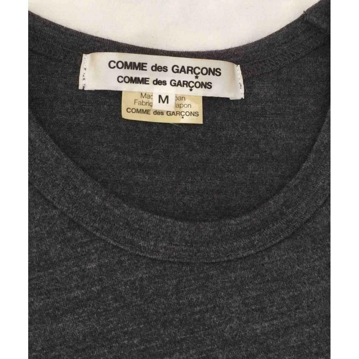 Camisa en lana gris Comme des Garçons de Lana de color Gris