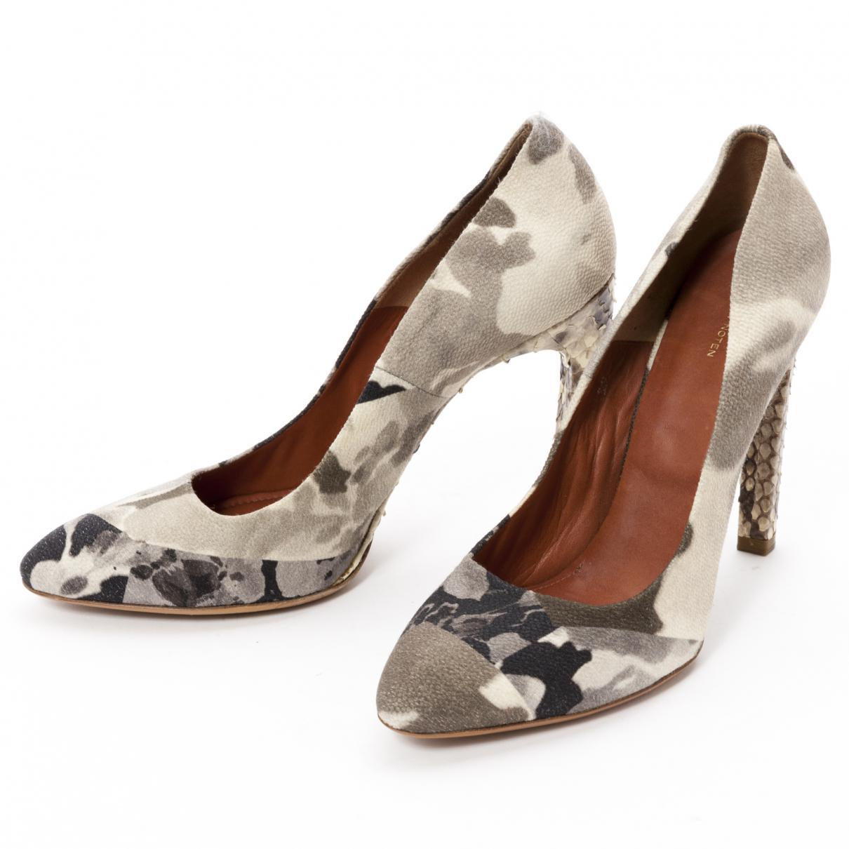 Pre-owned - Cloth heels Dries Van Noten Kc8OXbM0jy