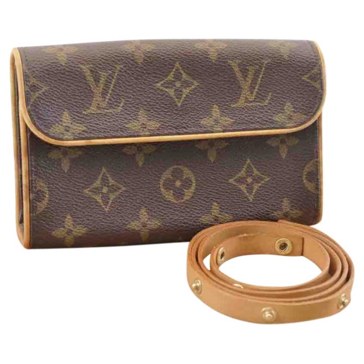 a6dad5e67996 Louis Vuitton. Women's Brown Cloth Handbag. $711 From Vestiaire Collective