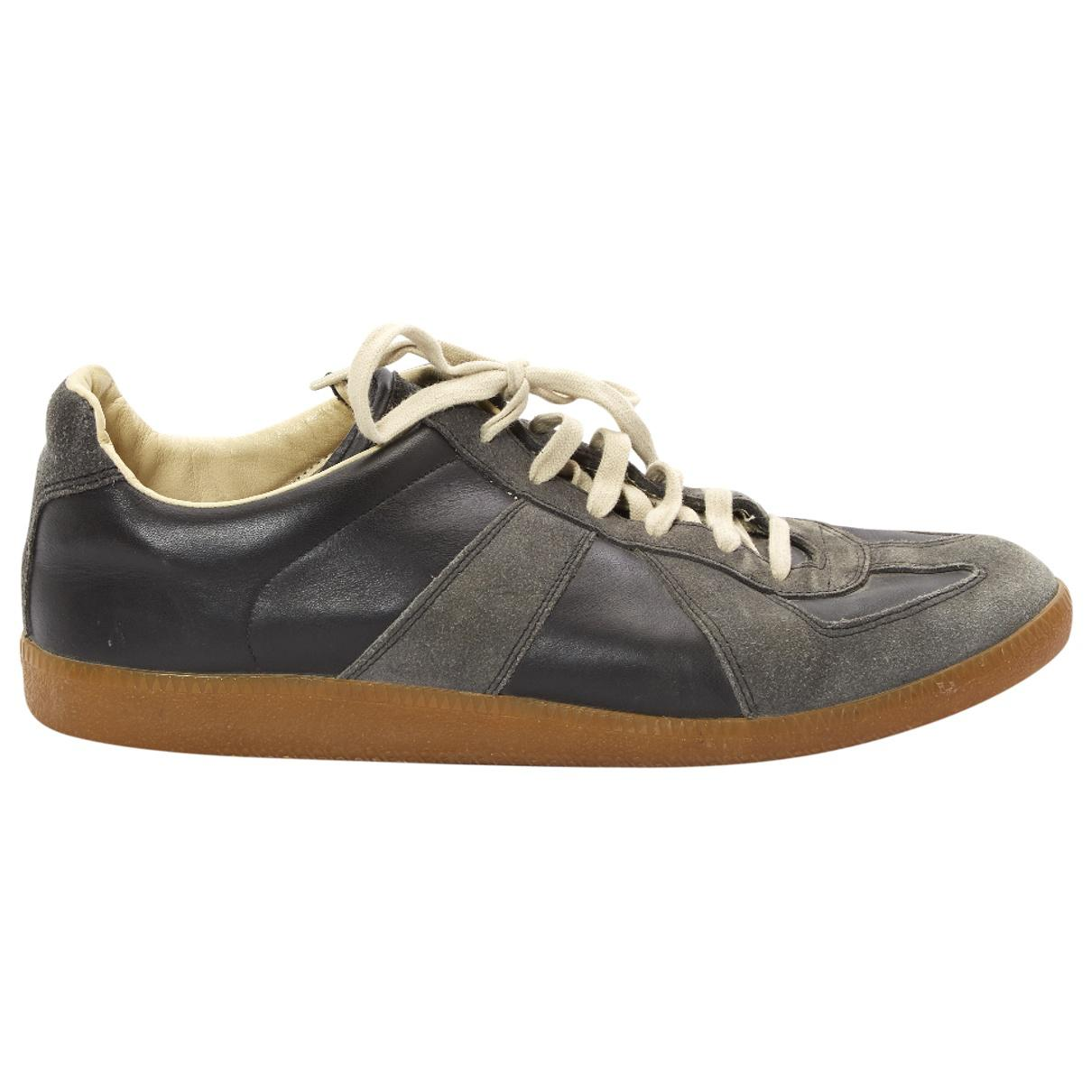 Pre-owned - Leather low trainers Maison Martin Margiela Y1lyn5z