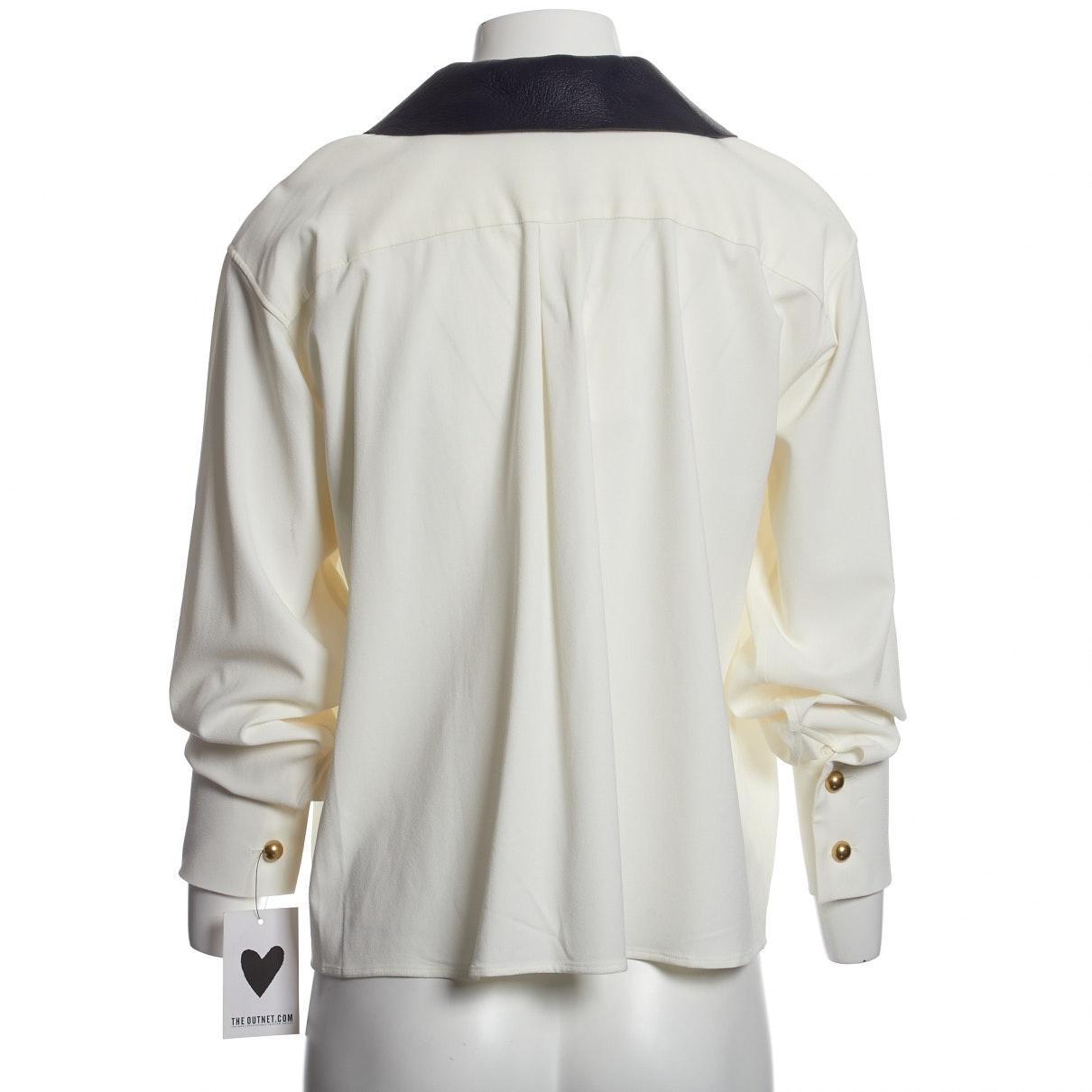 Top N en Viscose Blanc Synthétique JW Anderson en coloris Blanc