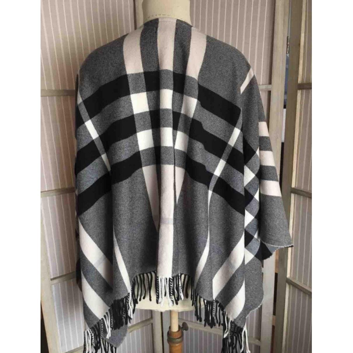 Vest en Laine Noir Laines Burberry en coloris Noir