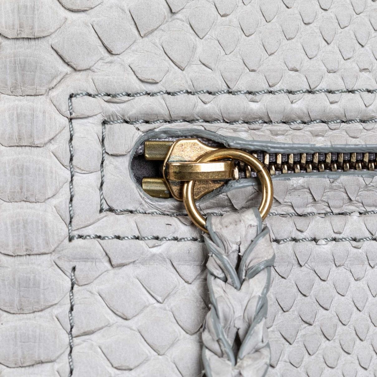 Celine Luggage Python Handtaschen in Grau rjFNo