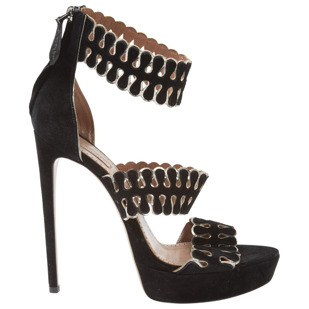 Pre-owned - Sandals Alaia NFCb7Ei6