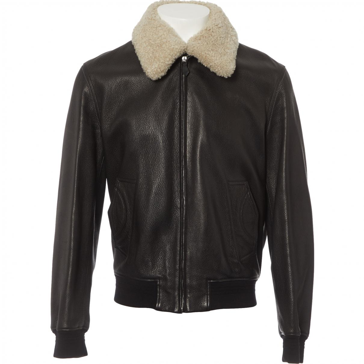 Lyst - Blouson en cuir Hermès pour homme en coloris Marron f6998ed435c
