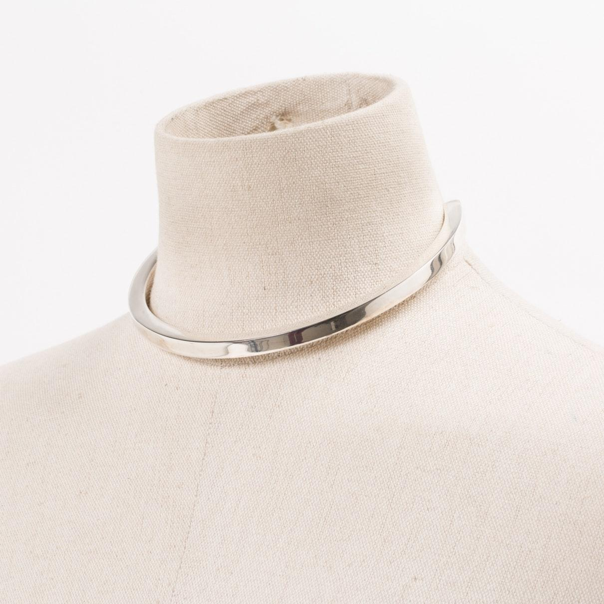 Maison Margiela Silver Silver Necklace in Metallic
