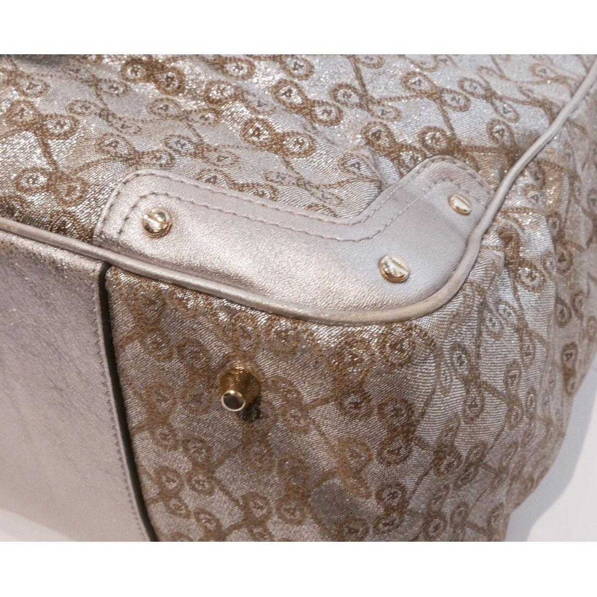 Anya Hindmarch Leinen Handtaschen in Mettallic 5C9Pe