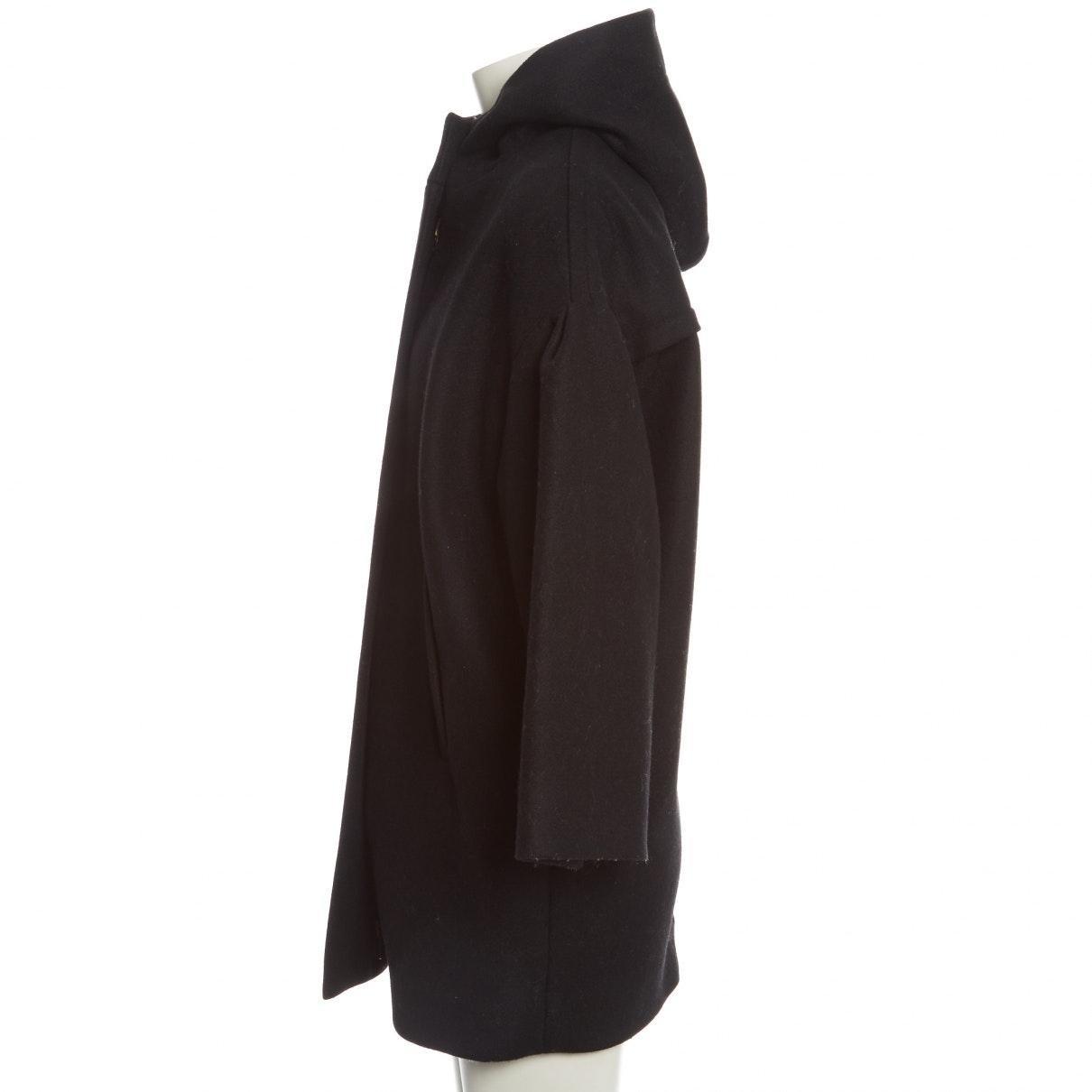 Mantel \\N en Laine Noir Étoile Isabel Marant en coloris Noir hapdo